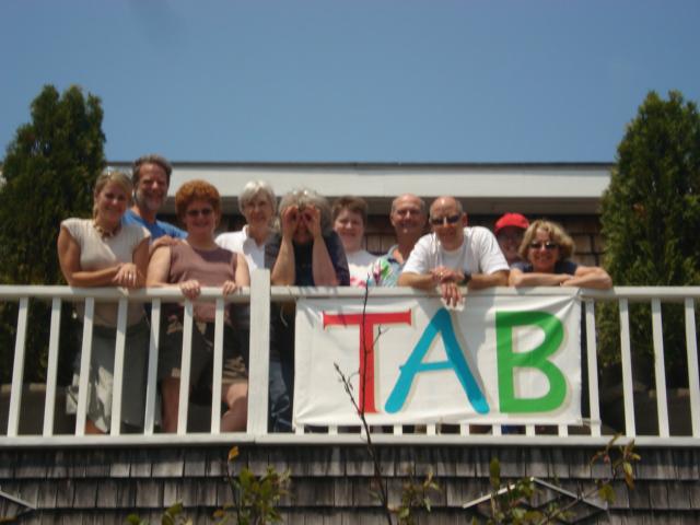 TAB group gathering.