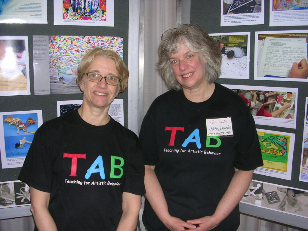 TAB founders Kathy Douglas and Diane Jaquith.