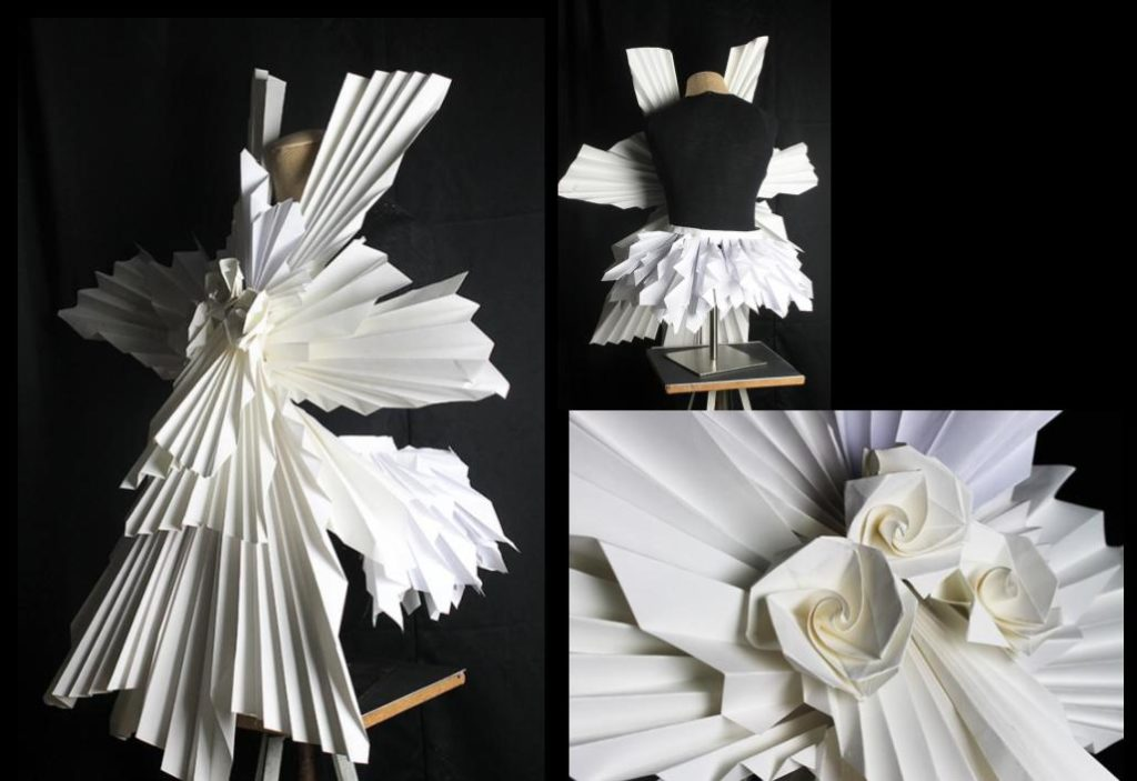 High school student's fashion design