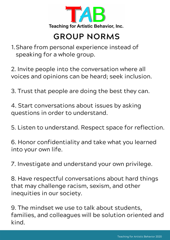 TAB Group Norms